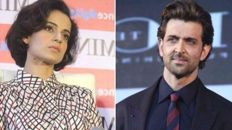 Kangana Ranaut and Hrithik Roshan's last film together 'Krrish 3' was a success at the box office.