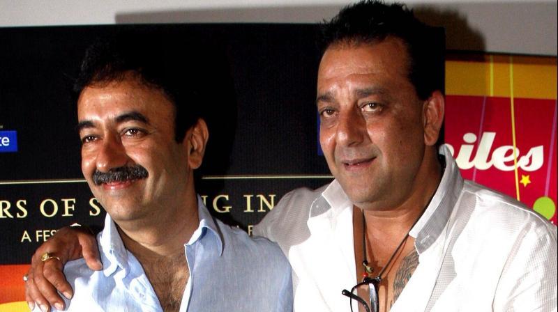Sanjay Dutt and Rajkumar Hirani.