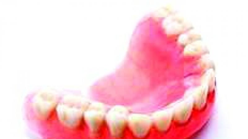 Veera Reddy, a 55-year-old builder from Ranga Reddy district, swallowed his denture during a severe bout of coughing.