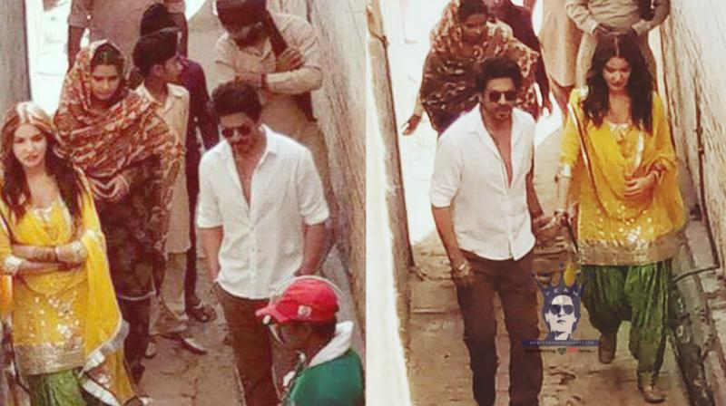Some of the pictures shared by Shah Rukh Khan's fan page on Twitter. (Photos and video credit: twitter.com/ @SRK_rule)