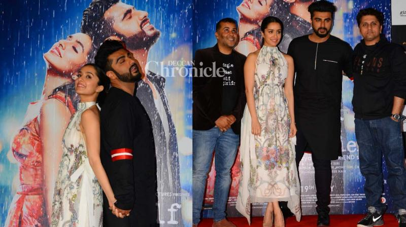 The team of 'Half Girlfriend' launched the trailer of the film on Monday at an event in Mumbai. (Photo: Viral Bhayani)