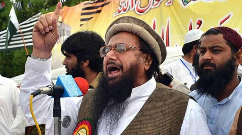 Saeed lawyer claimed the JuD has no nexus with Lashkar-e-Taiba and the UN resolution against it is 'illegal'. (Photo: AFP/File)