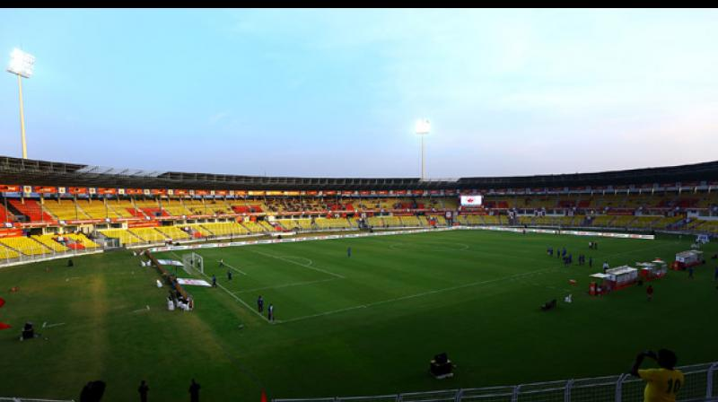 the Goa venue saw such a poor sell-out of the tickets despite the fact that the lowest price available on Fifa.com is that of Rs 48.(Photo: ISL Media)