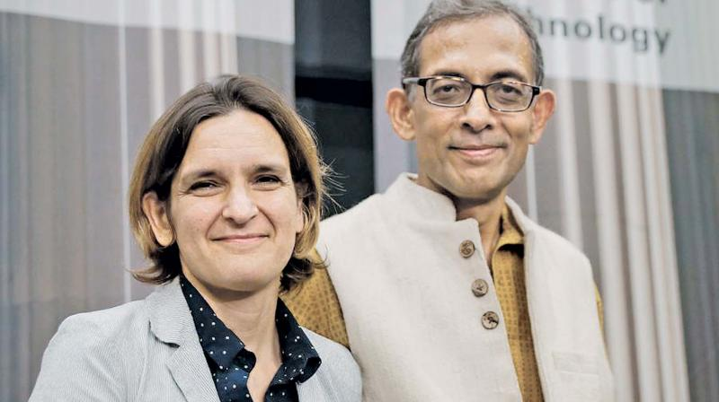"Banerjee, an Indian-American professor at the Massachusetts Institute of Technology, has won Nobel in Economics, jointly with Esther Duflo and Michael Kremer, for ""experimental approach to alleviating global poverty"". (Photo: File)"