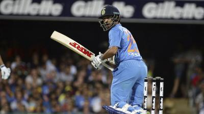 Shikhar Dhawan scored 76 runs. (Photo: AP)
