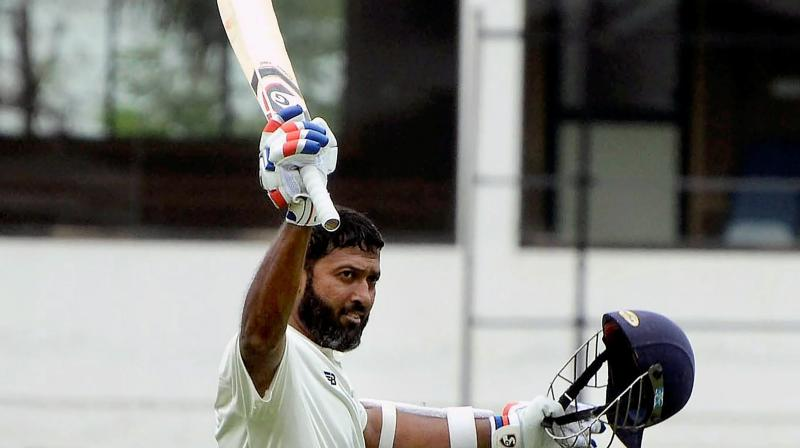 Continuing with his rich vein of form, the right-hand batsman played an impressive knock of 153 off 284 balls runs in the first innings of the ongoing match, taking his team to a 400-plus total. (Photo: PTI)