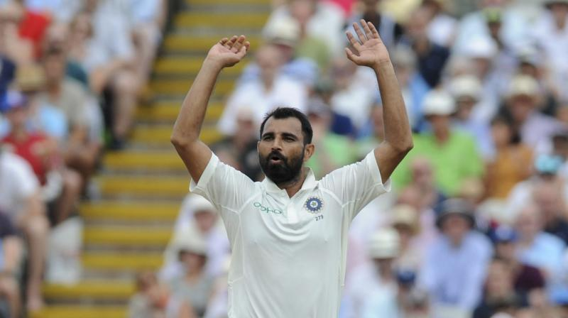 Concerned with Shami's fitness issues of late, the BCCI had cleared the Bengal pacer to play ongoing Ranji Trophy match against Kerala on condition that he would bowl 15-17 overs per innings. (Photo: AP)