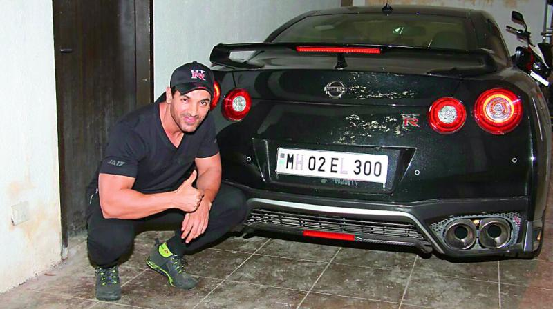 Known for his penchant for bikes, this time actor John Abraham has treated himself to a supercar.