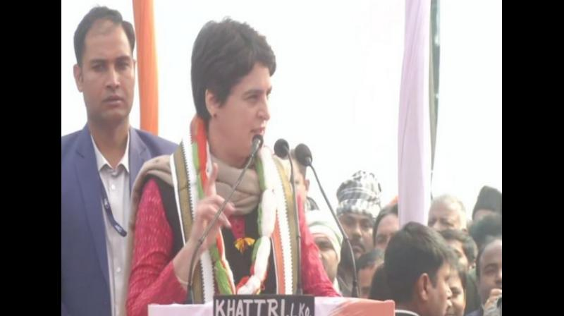 Priyanka Gandhi alleges manhandling by Uttar Pradesh cops