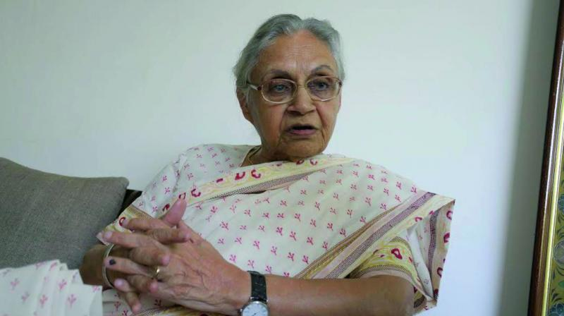 Delhi Congress chief Sheila Dikshit on Tuesday appealed to party president Rahul Gandhi to withdraw his decision to step down, saying the party has bounced back in the past from challenging circumstances to triumph. (Photo: File)