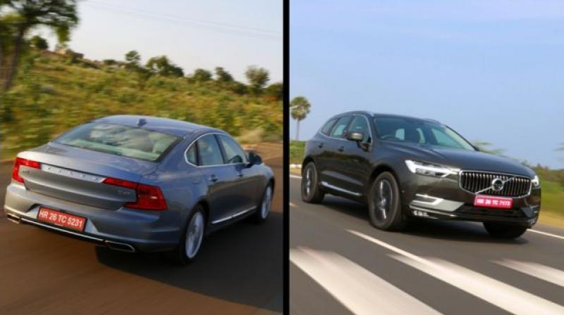 Volvo has launched a new base variant -- D4 Momentum -- of the XC60 and the S90 in India.