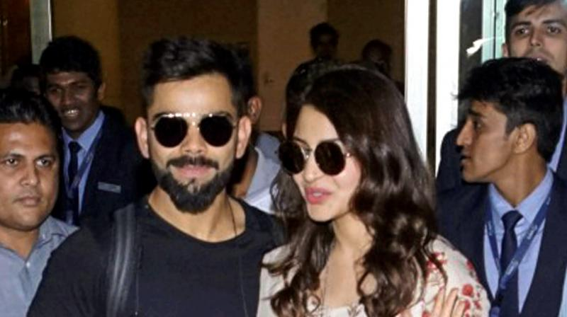 Anushka, Virat leave for Mumbai to host second reception