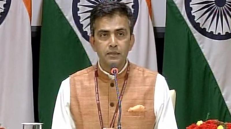 External Affairs Ministry Spokesperson Raveesh Kumar said said he cannot preempt what Modi will say during his interventions at the restricted and plenary sessions of the summit. (Photo: ANI | Twitter)