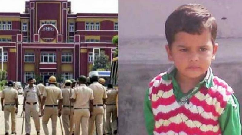 Seven-year-old Pradyuman was found with his throat slit in the washroom of the school on September 8. (Photo: File | PTI)