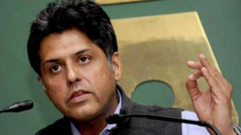 'I would like to draw your kind attention towards the fact that Shaheed Bhagat Singh, Rajguru and Sukhdev inspired an entire generation of patriots by their unrelenting resistance to British Imperialism and later their supreme sacrifice on the 23rd of March, 1931,' Manish Tewari said. (Photo: File)