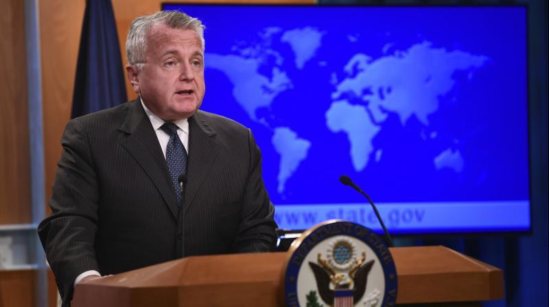 Deputy Secretary of State John J Sullivan made a trip to Bhutan this week. (Photo: AP)