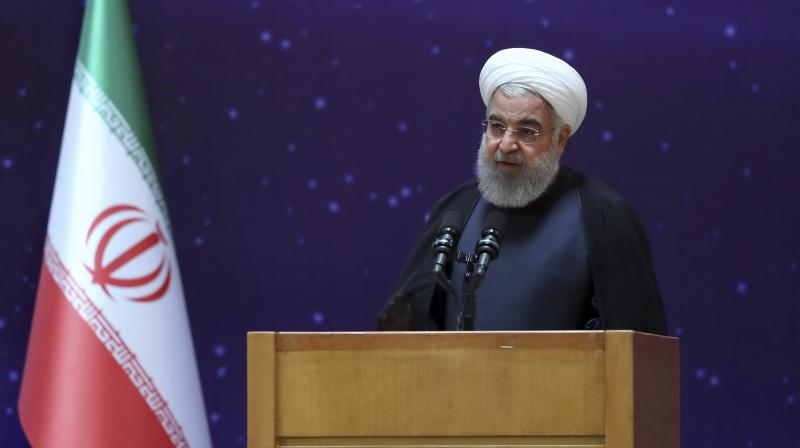 Iran's President Hassan Rouhani on Wednesday ordered all limits on nuclear research and development to be lifted, the country's third step in scaling down its commitments to a 2015 deal with world powers. (Photo: File)