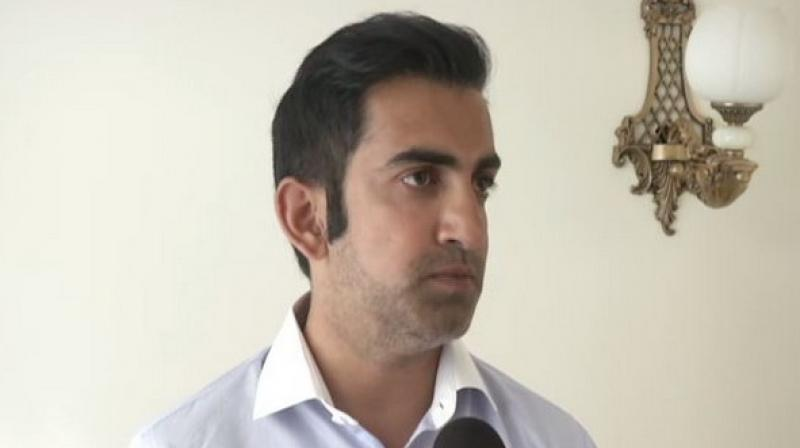 Gambhir went on to say that it is because of people like Kejriwal that 'good' people don't enter politics. (Photo: File)