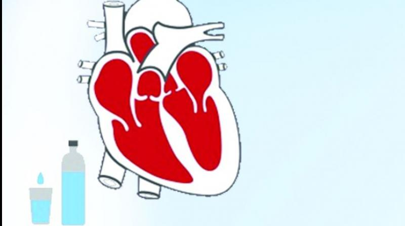 Burden of heart failure in India ranges from 1.3 million to 4.6 million according to clinical data from hospitals.