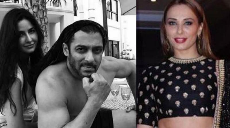 Salman Khan, Katrina Kaif and Iulia Vantur.