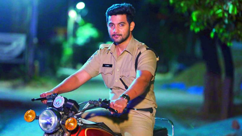 Aadi to be seen as a cop