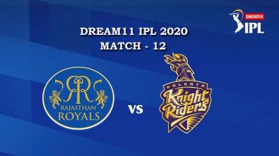 RR VS KKR Match 12, DREAM11 IPL 2020, T-20 Match