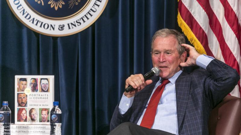 Bush made the comments in a talk in Abu Dhabi, the capital of the United Arab Emirates. (Photo: File)