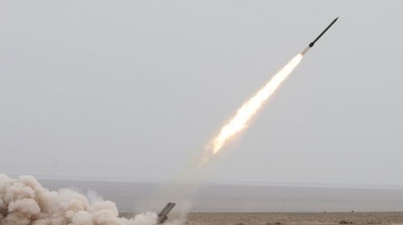 Iranian naval missile. ( Photo: AP)