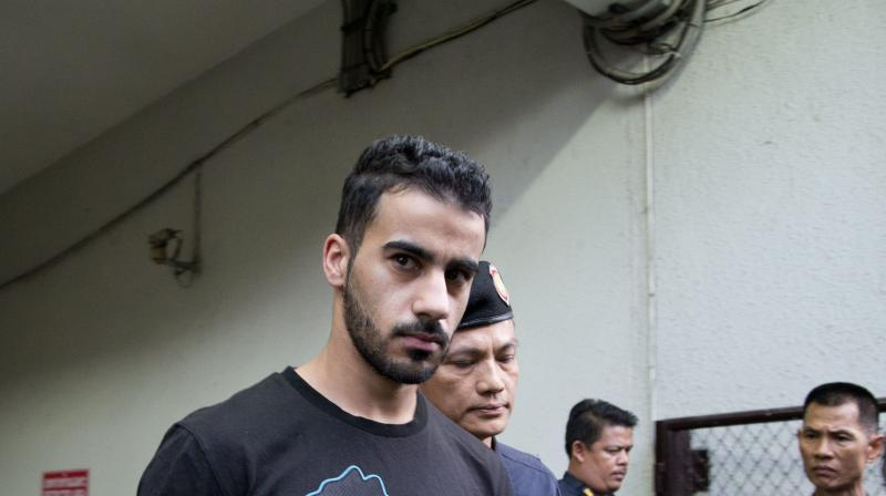 Thai prosecutors on Monday submitted a request to a court to withdraw the case to extradite al-Araibi to Bahrain, where he faces a 10-year prison sentence for an arson attack that damaged a police station. (Photo: AP)