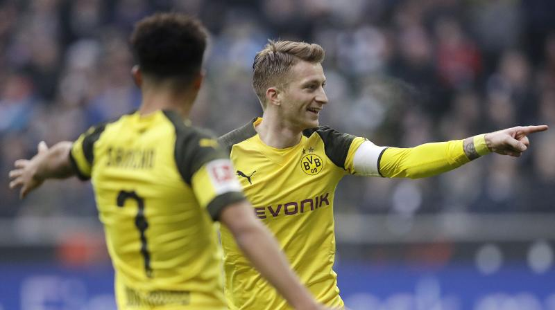 It is unclear whether Reus will be fit for the return leg on March 5. (Photo: AP)