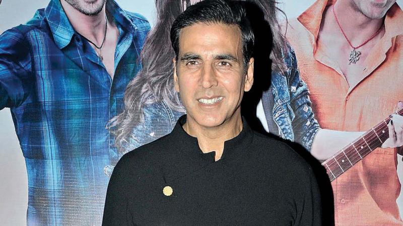 Karan Johar and I are making Kesari: Akshay Kumar