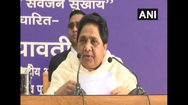 Mayawati also said that BSP is striving to ally with all those regional players who are associated with neither BJP nor the Congress. (Photo: File)