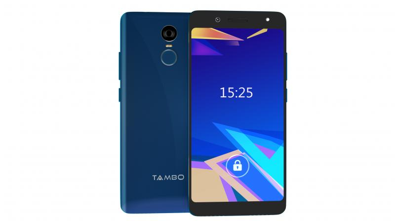 The TA-4 sports a Full View 5.45-inch IPS HD display with an 18:9 aspect ratio and 2.5D curved glass.