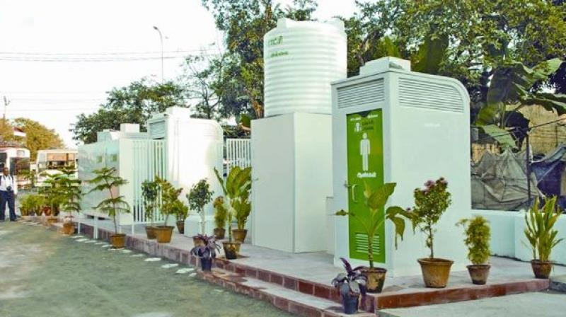 Chittoor district has bagged first place among other districts in the country for the construction of individual sanitary lavatories (ISL) as per Swachh Bharat Report.