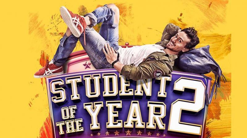 First poster of 'Student of the Year 2.'