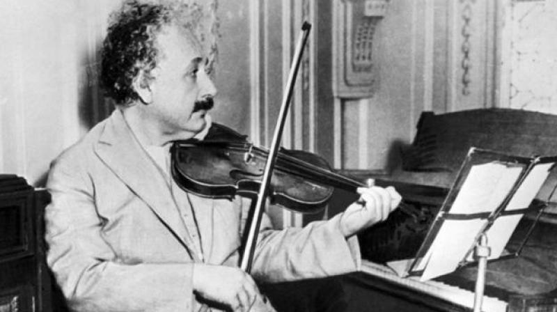 He started playing a violin at the age of six (Photo: AFP)