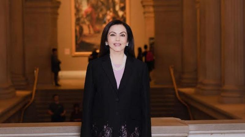 Nita Ambani Elected to the Board of The Metropolitan Museum of Art (New York) – the First Indian Trustee in the Museum's 150 Year history.