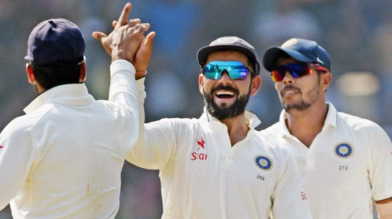 Virat Kohli did not have a clue what James Anderson said about him. (Photo: PTI)