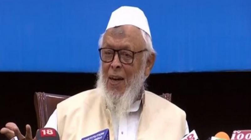 Madani's statement came a day after RSS and BJP leaders met Muslim leaders, clerics and scholars to appeal for peace and harmony post-Ayodhya verdict. (Photo: ANI)
