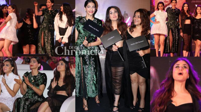 The team of 'Veere Di Wedding' launched the music of the film at a grand event in Mumbai on Tuesday. (Photos: Viral Bhayani)