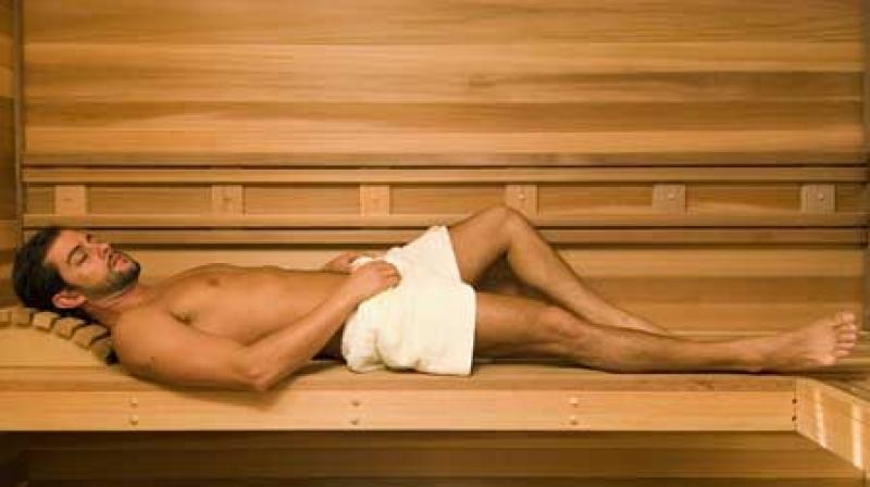 Image result for Taking sauna bath may better person's health, says study