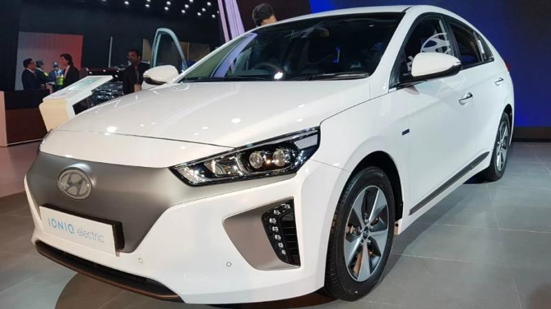 The Ioniq is available as a hybrid, plug-in hybrid and with an all-electric powertrain in the US, Europe and some East Asian countries.