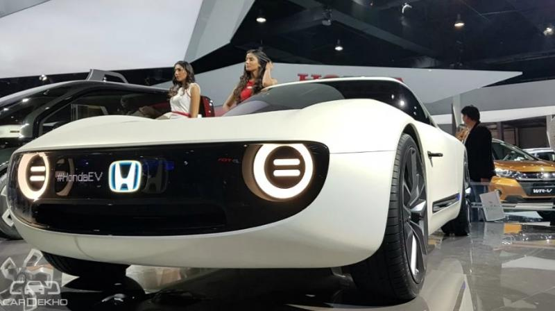 Honda has not revealed the powertrain details of the Sports EV.