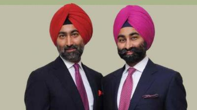 Promoters of Fortis Healthcare, Malvinder Singh and Shivinder Singh. (Photo: fortishealthcare.com)
