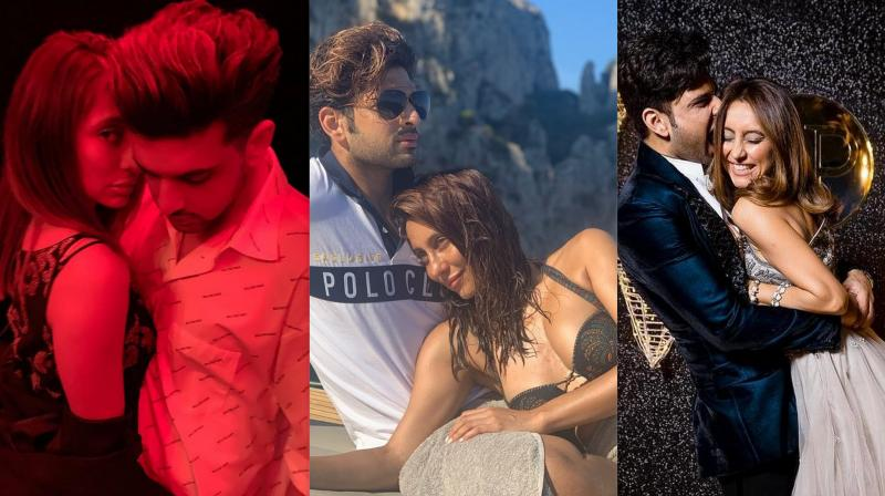TV stars Karan Kundra and Anusha Dandekar have been in a relationship for five year now and the duo has always been setting relationship goals for their fans. So, let's take a look at the romantic pictures of the most loved couples of TV. (Photos: Instagram)