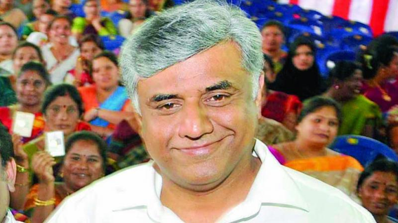 Congress Rajya Sabha MP Rajeev Gowda