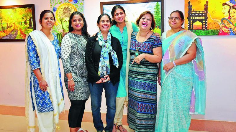 Poornima, Bindiya, Anita, Madhuri, Ashuma and Madhavi