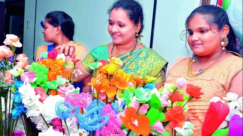 Crafts Exhibition In Vijayawada Crafting