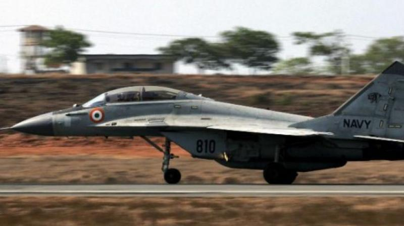 Last week, the upgraded MiG-29 showcased its combat capabilities at Adampur Air Force Station. (Photo: File | PTI)