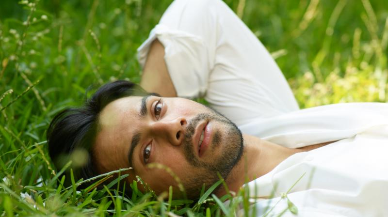 Image result for varun dhawan grass